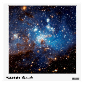 LH 95 Star Forming Region - Hubble Space Photo Wall Sticker