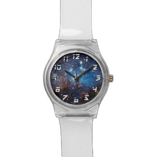 LH 95 Star Forming Region - Hubble Space Photo Wristwatch