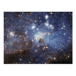 LH 95 Star forming region NASA Postcard