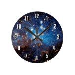 LH 95 Star Forming Region Round Wall Clock