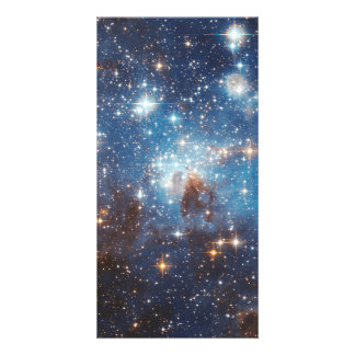 LH 95 stellar nursery space photography Card