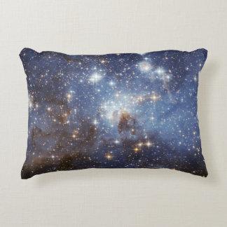LH 95 stellar nursery space photography Accent Pillow