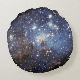 LH 95 stellar nursery space photography Round Pillow