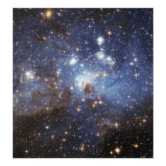 LH 95 stellar nursery space photography Photo Print