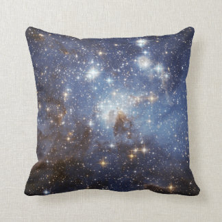 LH 95 stellar nursery space photography Throw Pillow