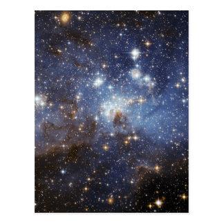 LH 95 stellar nursery space photography Postcard