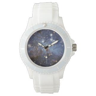 LH 95 stellar nursery space photography Wrist Watch