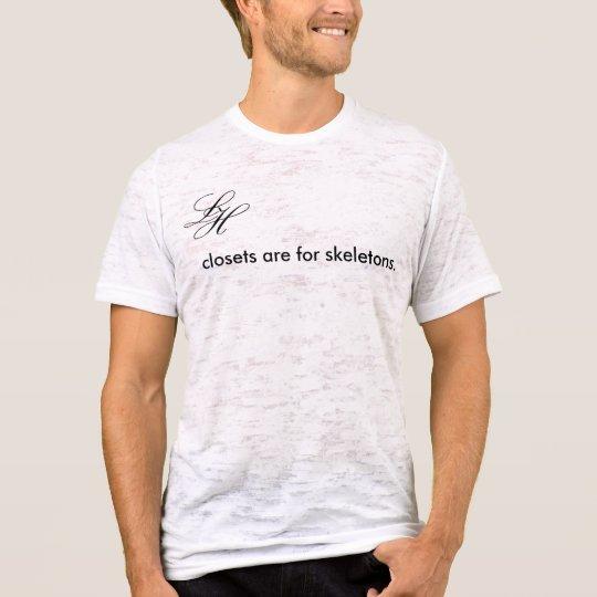 LH_logo_closets_skeletons_tee T-Shirt