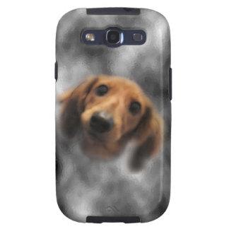 LH roja del dachshund Samsung Galaxy SIII Funda