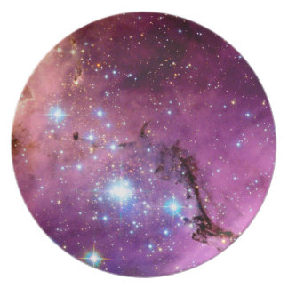 LHA 120-N11 Star Formation Hubble Space Photo Melamine Plate