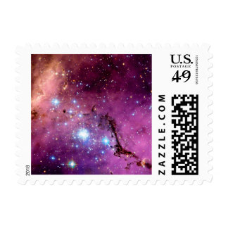 LHA 120-N11 Star Formation Postage Stamps