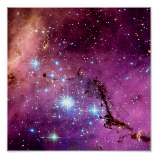 LHA 120-N11 Star Formation Poster