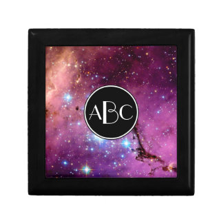 LHA 120-N11 Star Formation with Custom Monogram Jewelry Box
