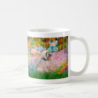 Lhasa Apso 20 - Garden Coffee Mug