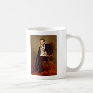 Lhasa Apso 4 - Lincoln Coffee Mug