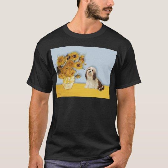 Lhasa Apso 4 - Sunflowers T-Shirt
