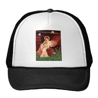 Lhasa Apso 9 - Seated Angel Trucker Hat