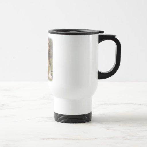 Lhasa Apso 9Y394D-104 15 Oz Stainless Steel Travel Mug