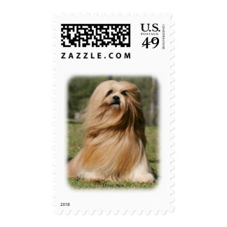 Lhasa Apso 9Y394D-104 Postage Stamp