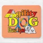 Lhasa Apso Agility Gifts Mouse Pads