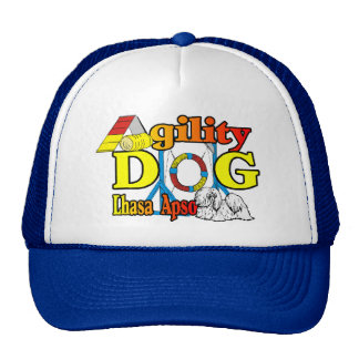Lhasa Apso Agility Gifts Trucker Hat