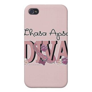 Lhasa Apso DIVA Covers For iPhone 4