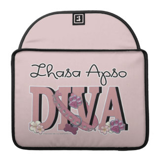 Lhasa Apso DIVA Sleeve For MacBooks