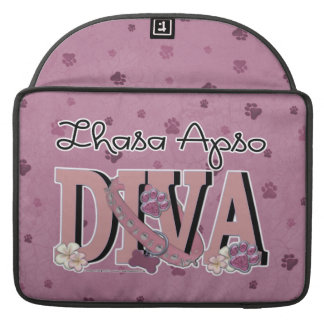 Lhasa Apso DIVA Sleeves For MacBook Pro