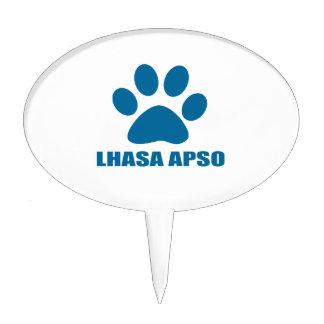 LHASA APSO DOG DESIGNS CAKE TOPPER