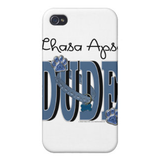 Lhasa Apso DUDE Case For iPhone 4