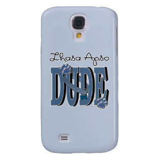 Lhasa Apso DUDE Galaxy S4 Cover