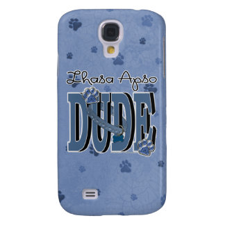 Lhasa Apso DUDE Samsung Galaxy S4 Cases