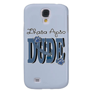Lhasa Apso DUDE Samsung Galaxy S4 Covers