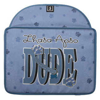 Lhasa Apso DUDE Sleeve For MacBook Pro