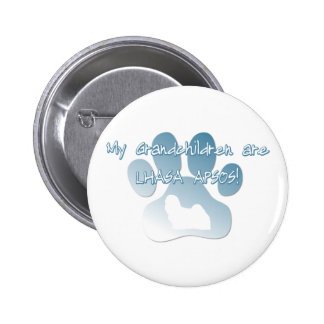 Lhasa Apso Grandchildren Buttons