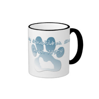 Lhasa Apso Grandchildren Mug