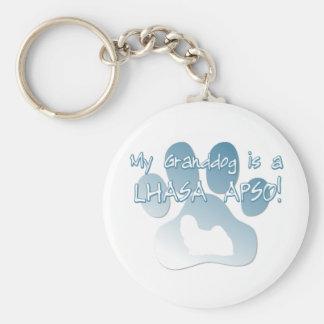 Lhasa Apso Granddog Keychain