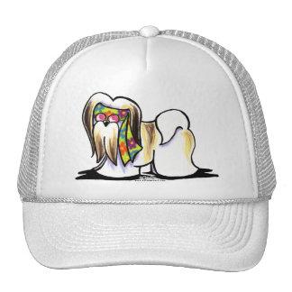 Lhasa Apso Hippie Trucker Hat