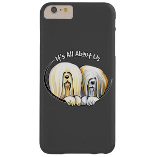 Lhasa Apso IAAU Off Black Barely There iPhone 6 Plus Case