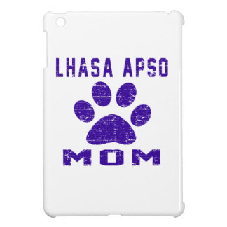 Lhasa Apso Mom Gifts Designs iPad Mini Cases