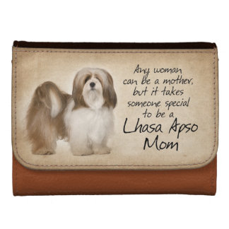 Lhasa Apso Mom Wallet