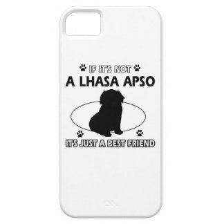 LHASA APSO mommy designs iPhone 5 Cover