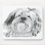 Lhasa Apso Mouse Pads