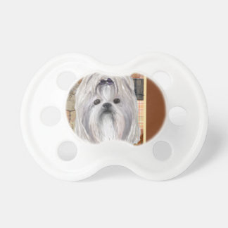 Lhasa Apso Pacifier