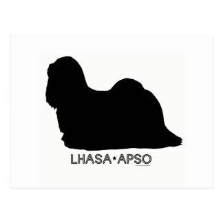 Lhasa Apso Postcard