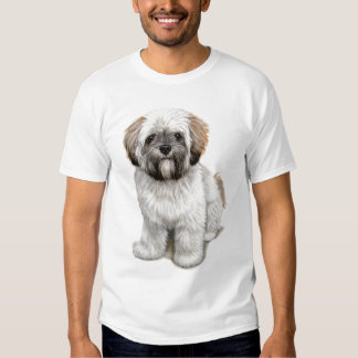 Lhasa apso Puppy T Shirts