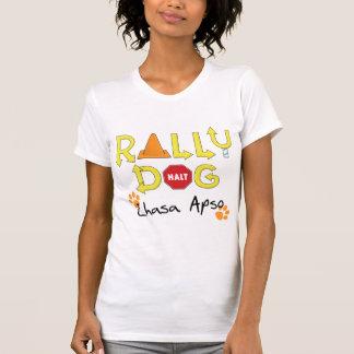 Lhasa Apso Rally Dog T-shirt