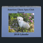 "Lhasa Apso Rescue 2018 Calendar<br><div class=""desc"">A beautiful calendar made from the pictures of beloved Lhasas sent to us by Lhasa Lovers everywhere! Profits from the sale of this calendar will go to save more Lhasa lives.</div>"