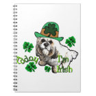 Lhasa Apso St Patricks Notebook