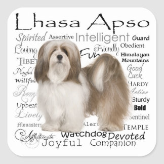 Lhasa Apso Stickers